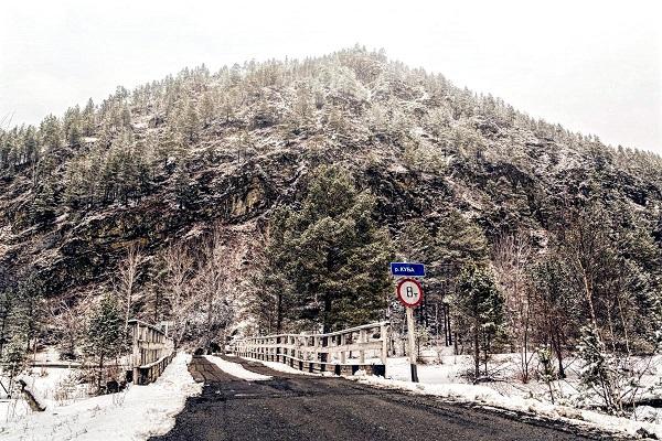 Окрестности зимой