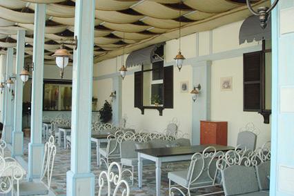 Летняя веранда ресторана «Пир»