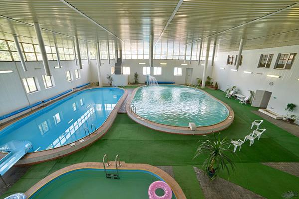 Санаторий Анапа,Комплекс крытых бассейнов