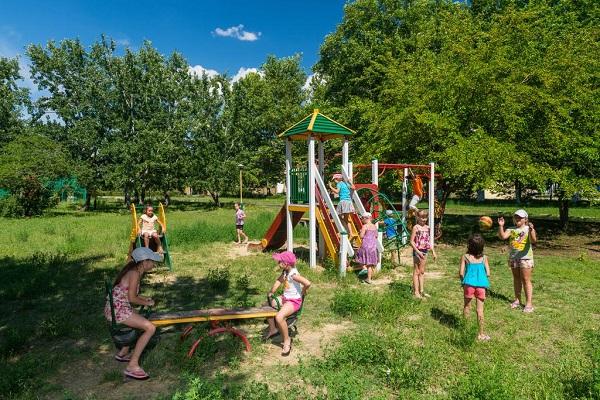 Санаторий Анапа,Детская площадка