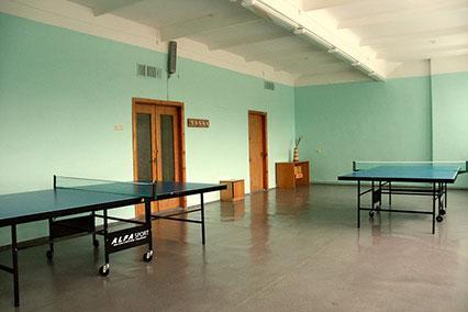 Санаторий Республиканская больница Спелеолечения,Настольный тенис