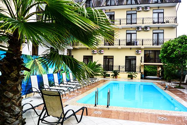 Гостиница Amran, клубный отель,Бассейн открытый