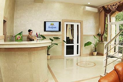 Гостиница Amran, клубный отель,Ресепшн