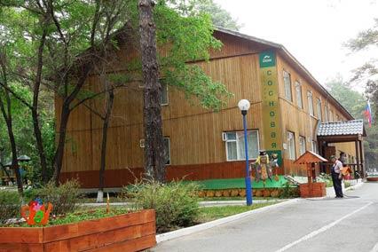 База отдыха Верхний бор,Корпус гостиницы Сосновая