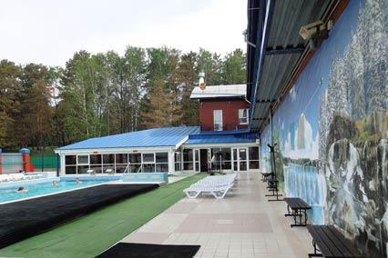 Термальный бассейн, корпус СПА-Источник