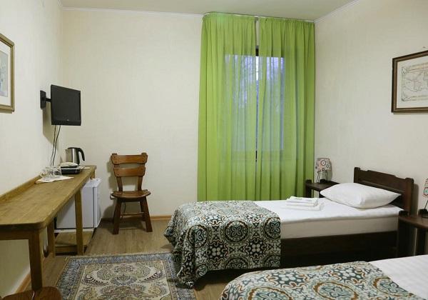 Отель Пруссия,стандарт 2-местный с раздельными кроватями