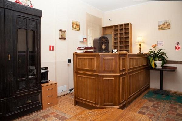 Отель Пруссия,ресепшн