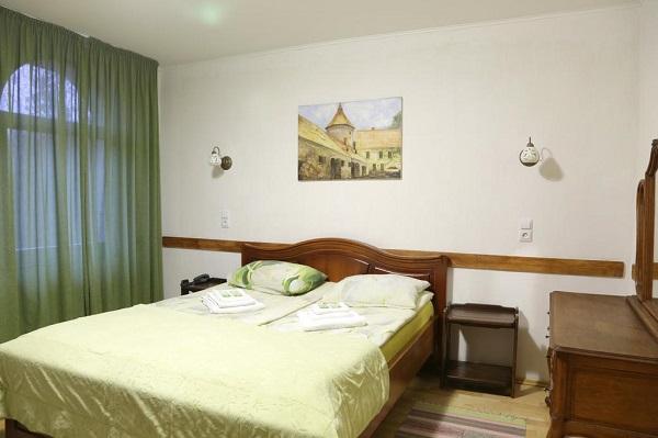 Отель Пруссия,стандарт с 2-спальной кроватью
