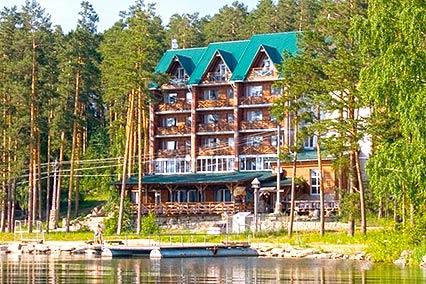 Клуб-отель Золотой пляж,Внешний вид