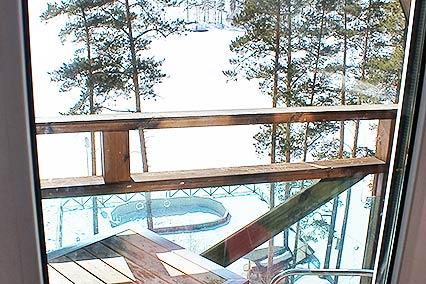 Люкс 2-уровневый. Вид с балкона