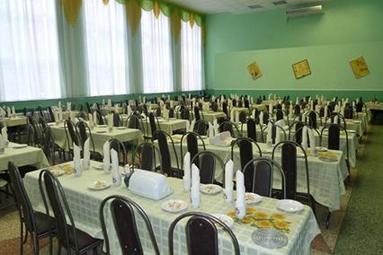 Санаторий Золотые пески ,Столовая