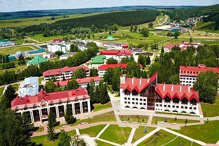 Санаторий Красноусольск,Внешний вид санатория