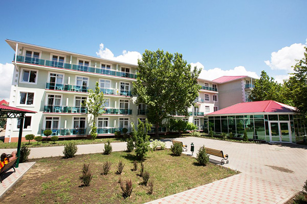 Отель Олимп,Общий вид