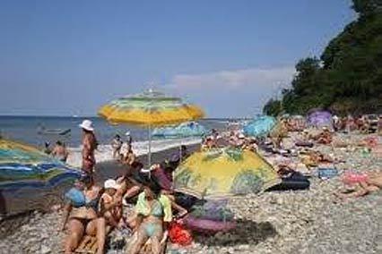 Отель Находка ,Пляж