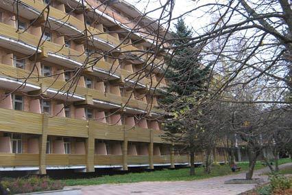 Санаторий Солнечногорский,Внешний вид