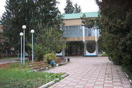 Санаторий Солнечногорский,Территория