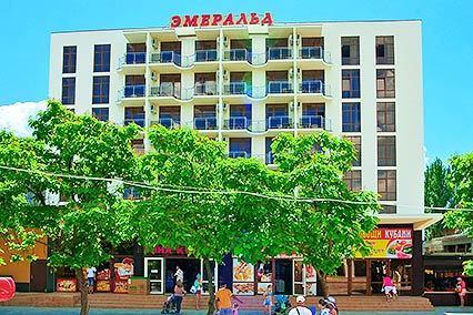 Гостиничный комплекс Эмеральд ,Внешний вид