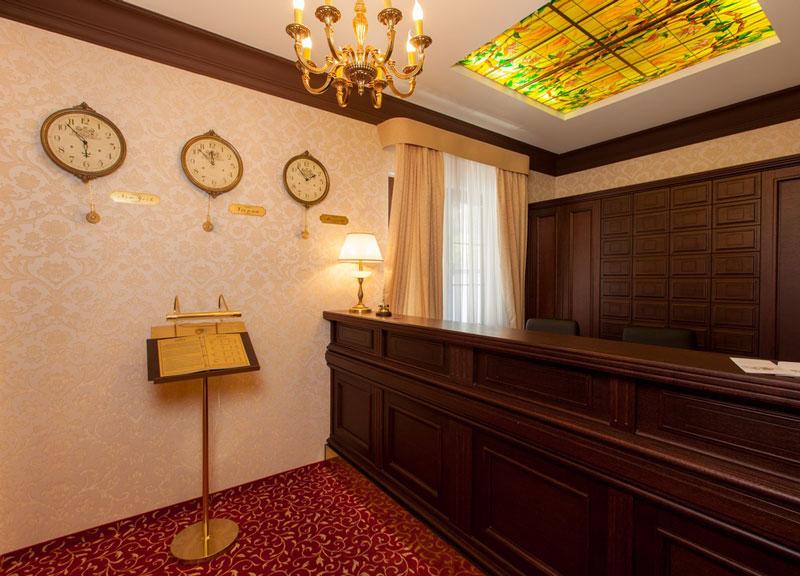 Отель Kompass Отель,Ресепшн