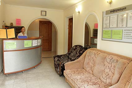 Отель Островок,Служба размещения