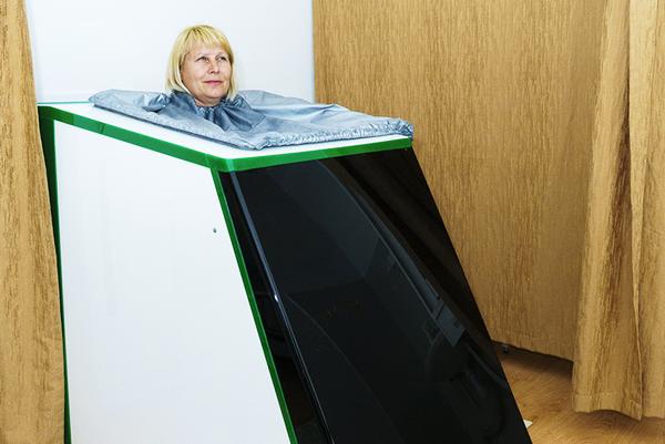 Санаторий Родник ,Сухие углекислые ванны