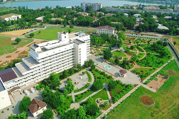 Санаторий Сакрополь,Вид сверху