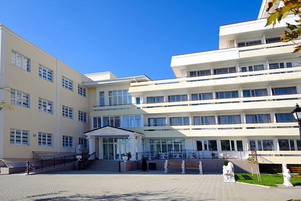 Санаторий Сакрополь,Медицинский блок вход