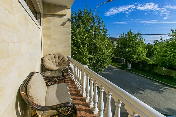 Гостиница Сан-Сиро (San-Siro),Вид из номера
