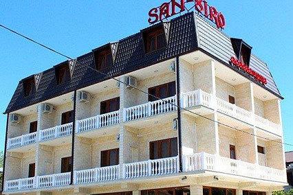 Гостиница Сан-Сиро (San-Siro),Внешний вид (корпус №1)