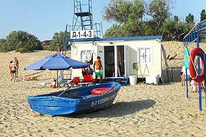 Детский лагерь отдыха Полярные зори,Пляж