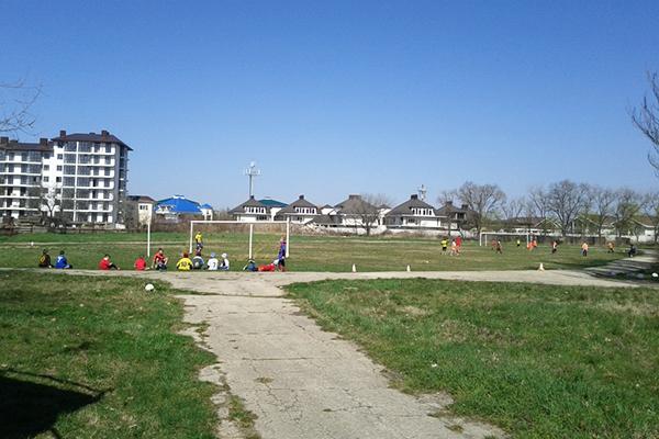 Детский лагерь отдыха Полярные зори,Футбольное поле