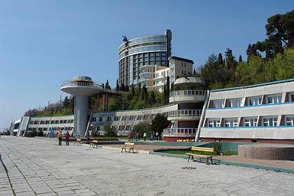 Курорт-отель Морской Уголок,Внешний вид корпуса