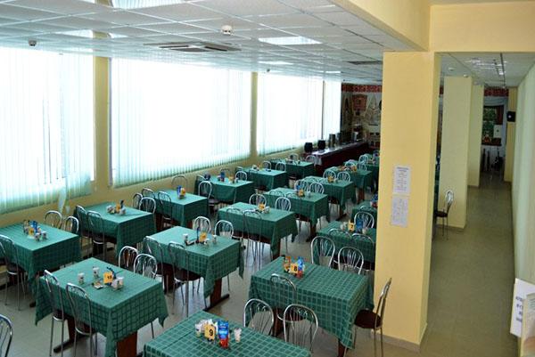 Курорт-отель Морской Уголок,Столовая