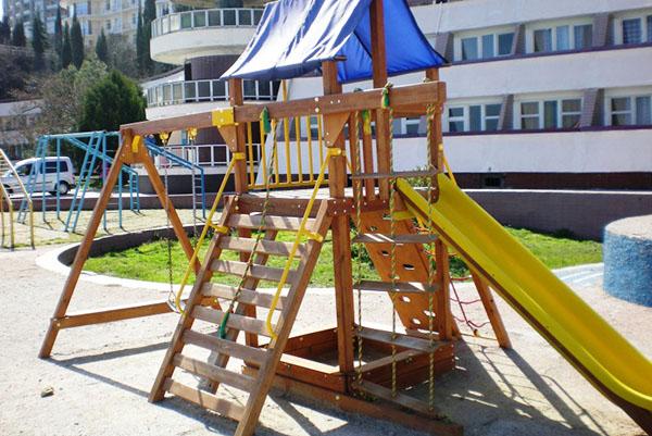 Курорт-отель Морской Уголок,Детская площадка