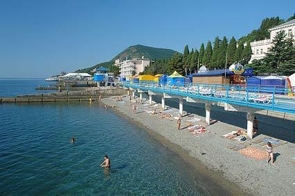 Курорт-отель Морской Уголок,Пляж