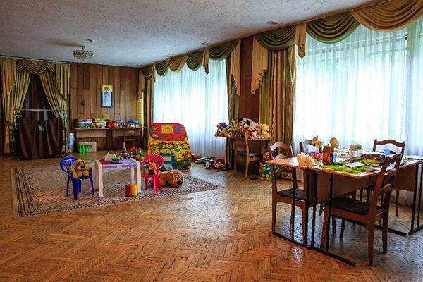 Санаторий Звенигородский,Детская игровая