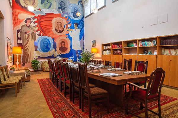 Санаторий Звенигородский,Библиотека